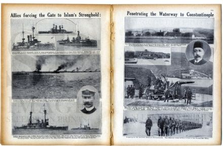 1915 WW1 Magazine YPRES Kumkale Gallipoli UKRAINE Masurian Lake Poland WAR Battles TRENCHES (0300